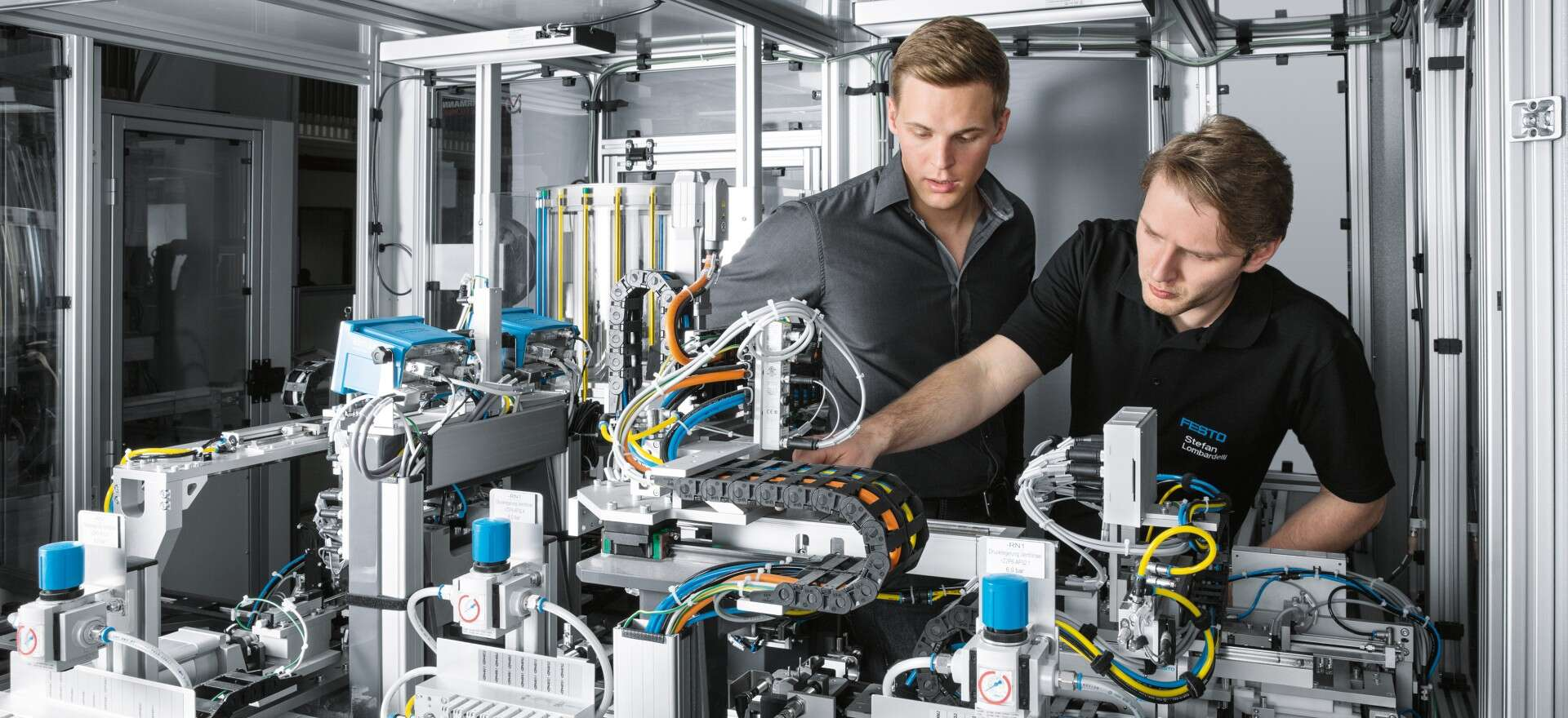 Business divisions: automation and technical education