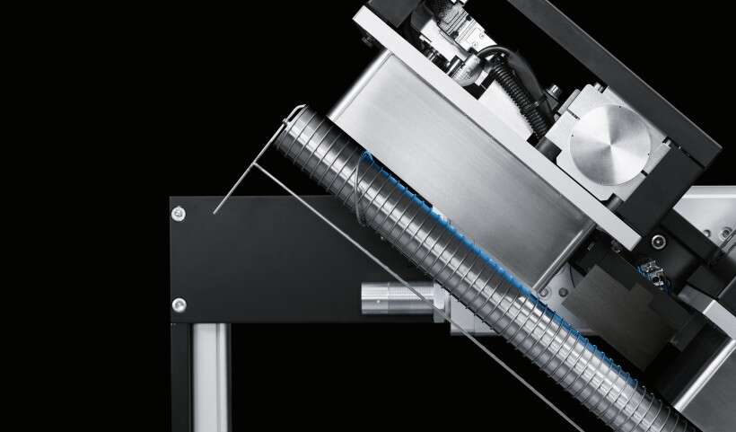 Festo SupraHelix: contactless drive by means of superconductivity