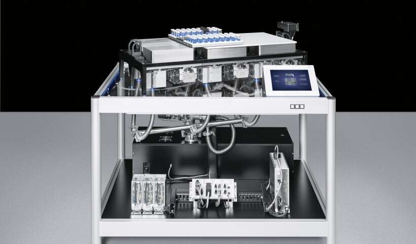 Festo SupraDrive: easy cleaning during operation