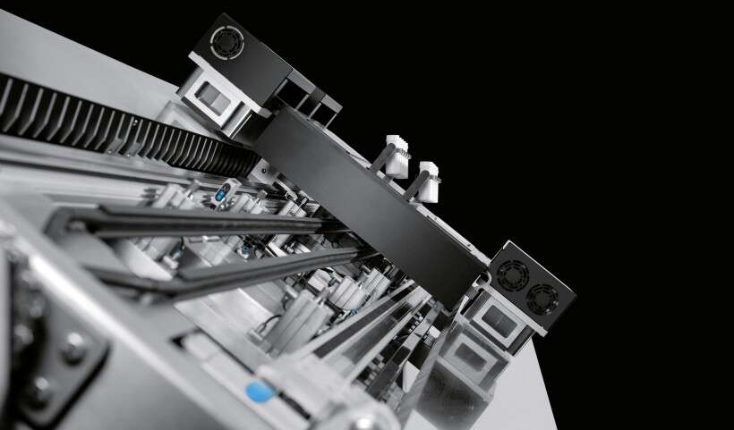 Festo SupraHandling 2.0: contactless linear motion in three spatial planes