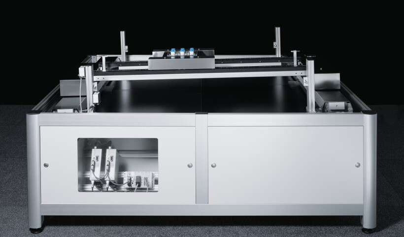 Festo SupraHandling: contactless motion in the X and Y directions