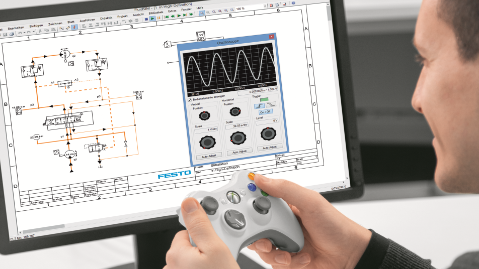 Design and simulation program for circuit diagrams