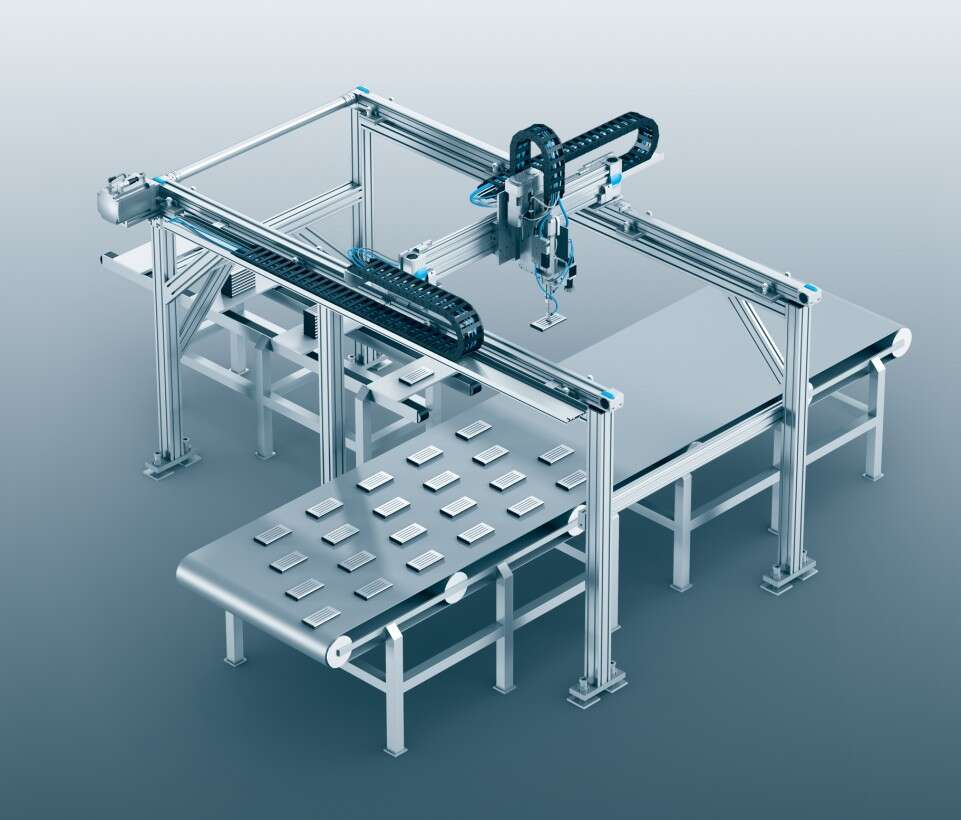 Battery manufacturing: 3D gantry for assembly