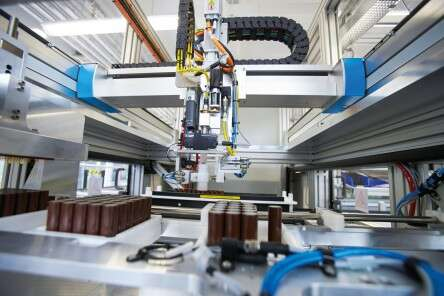 Efficient battery manufacturing
