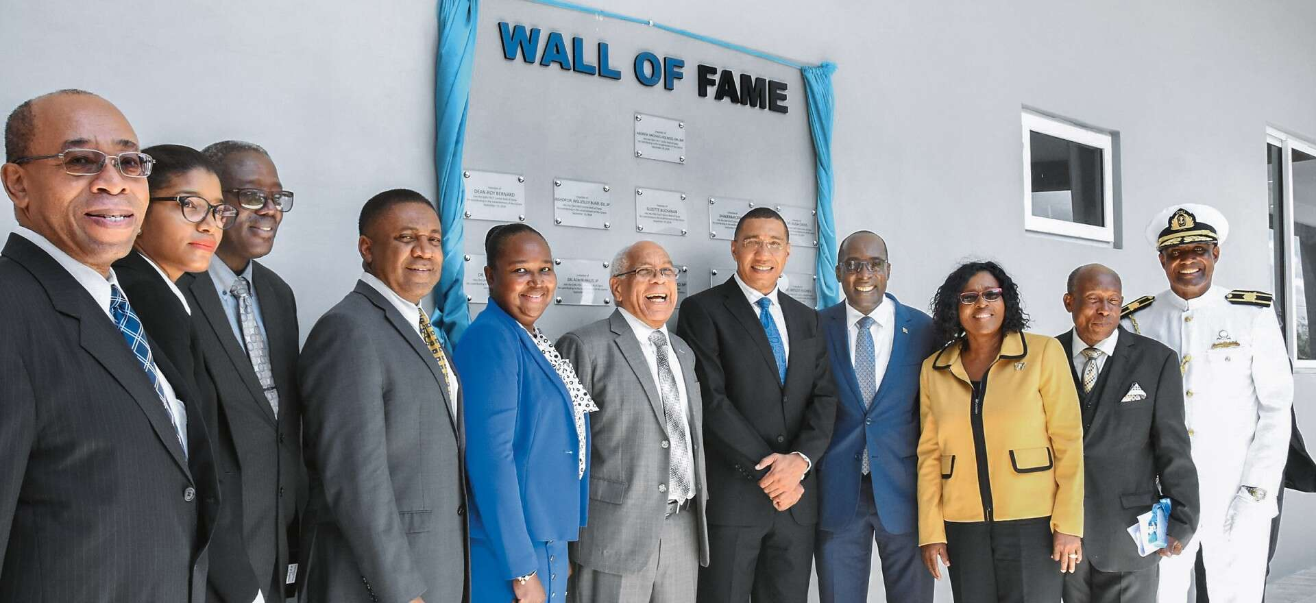 FACT technical training centre for Jamaica
