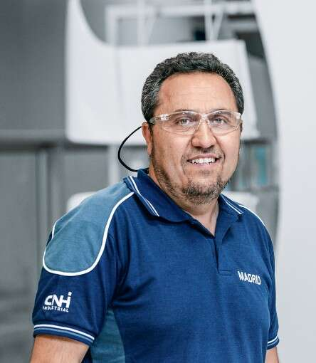 Miguel Ángel Daganzo, Maintenance Manager at IVECO Madrid