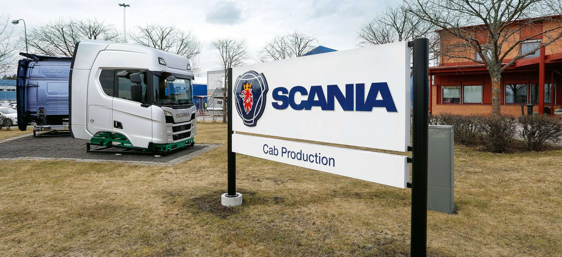Scania truck cabs