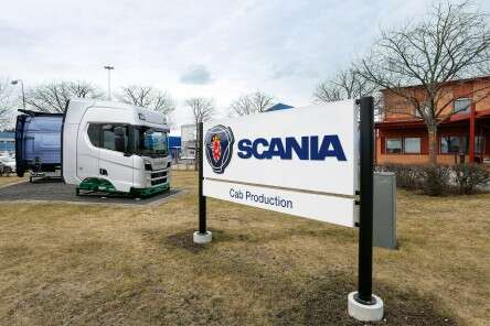 Scania label