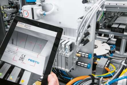 The latest information technology is used consistently throughout the Technology Plant – for example, tablets are used for service, maintenance and monitoring energy consumption.