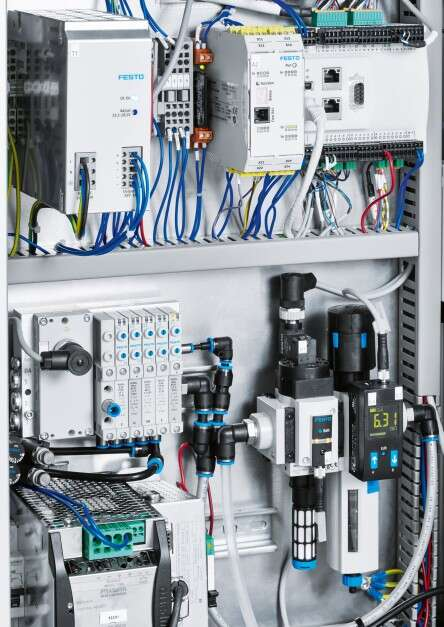bdtronic control cabinet for handling system