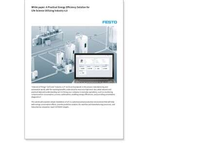Whitepaper: A Practical Energy Efficiency Solution for Life Science Utilizing Industry 4.0