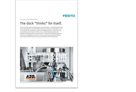 Modular automation with valve manifolds for bulk materials