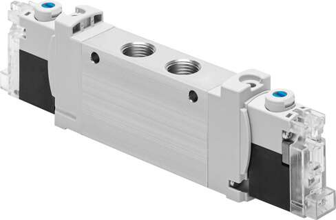 Solenoid valve for individual connection