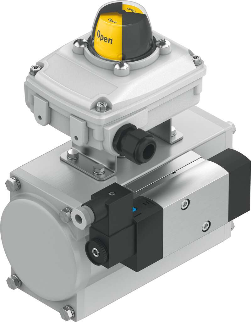 Quarter turn actuator unit