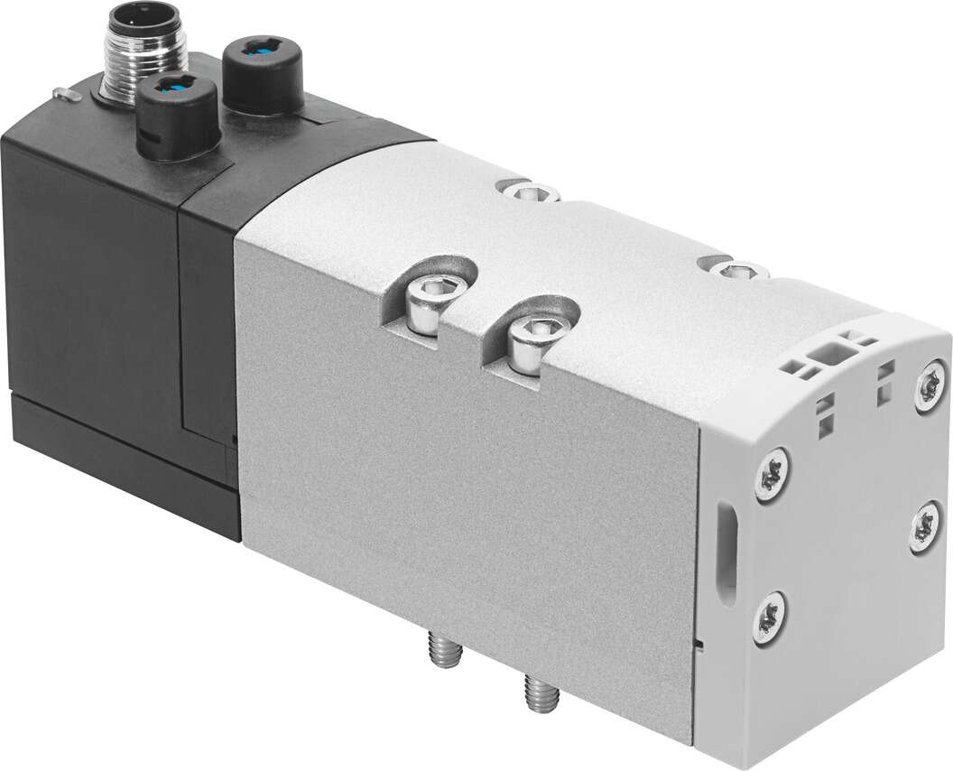 ISO valve with central plug