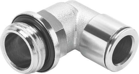Push in fitting, metal, standard