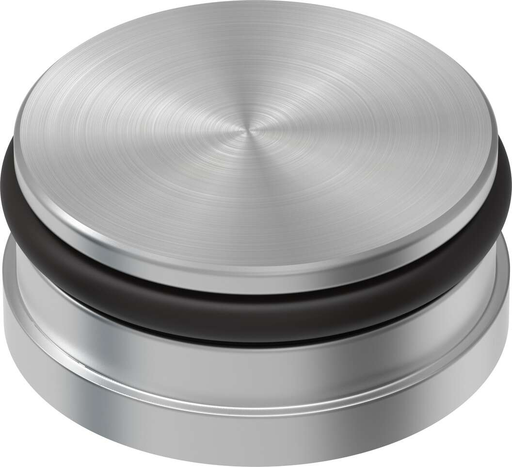 Sealing and separating component as per ISO 5599-1