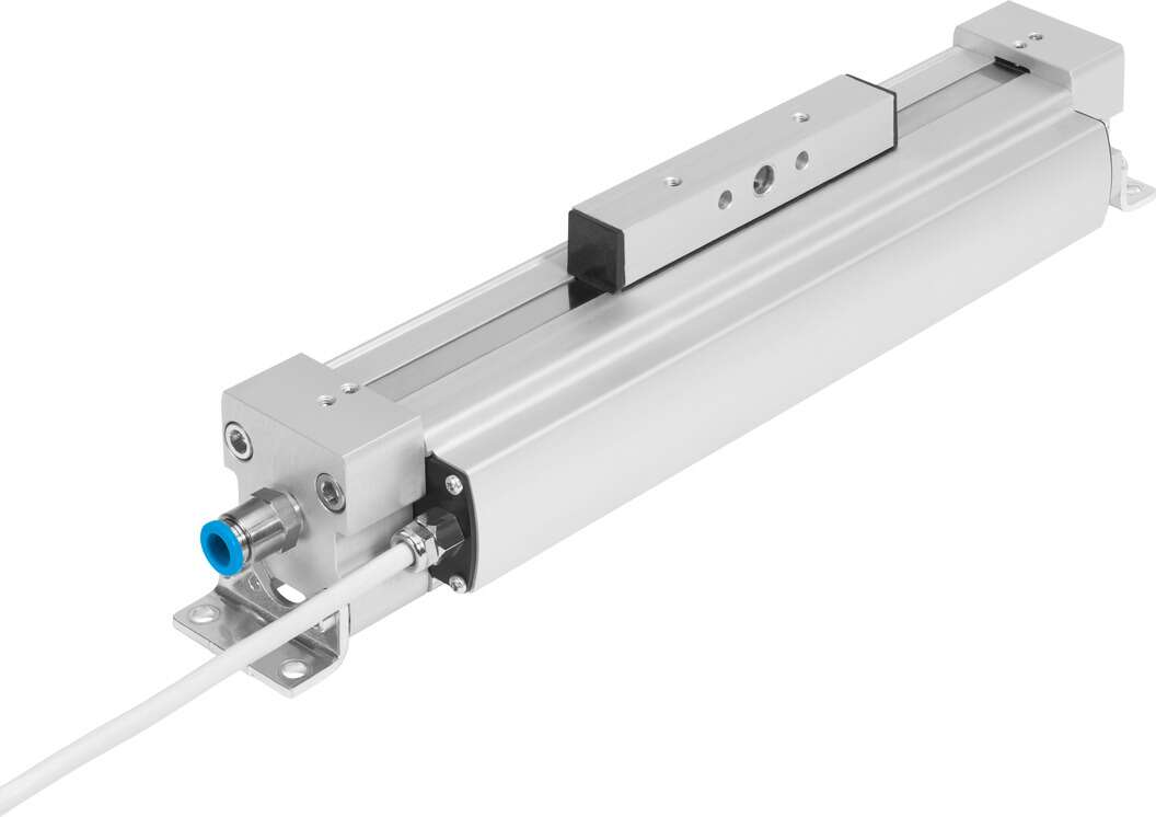 Linear actuator with position feedback