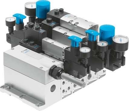Valve manifold VTSA with multi-pin plug connection