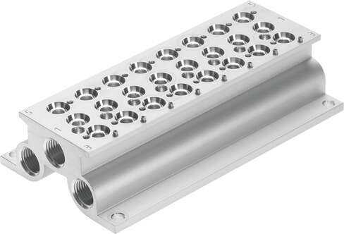 Manifold rail for CPE