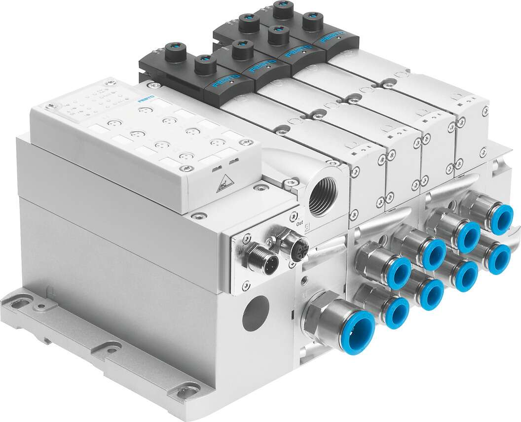 Valve manifold with AS-Interface connection