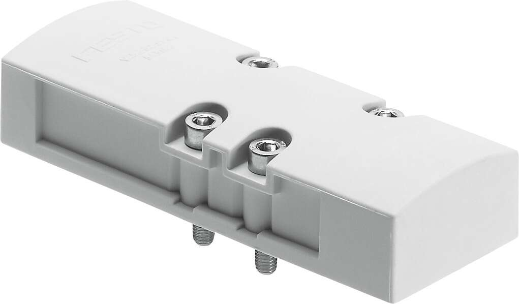 Cover plate according to ISO 5599-2