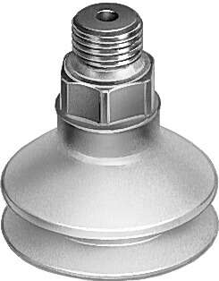 Suction cup with connector