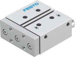 Actuators with guide rods