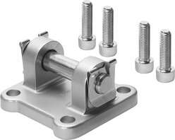 Mounting attachments for actuators