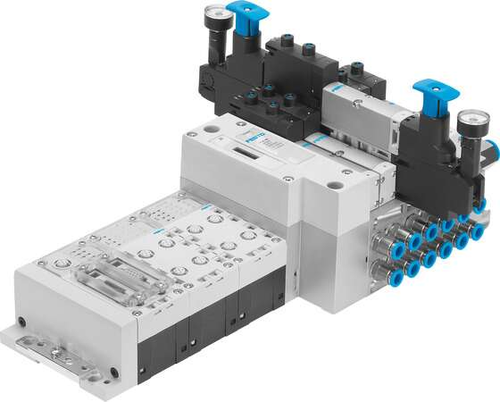 Valve manifold with CPX terminal