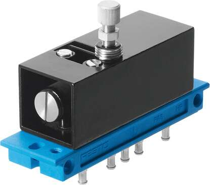 Pneumatic timer, M5 Compact System