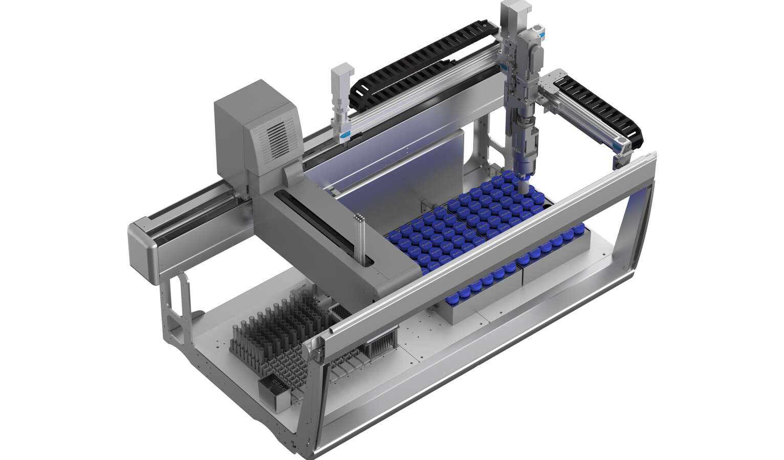 JANUS® G3 Workstation with a customized rotary gripper module and subsystems from Festo.