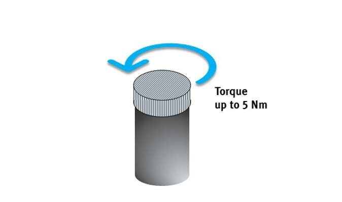 Torques of up to 5 Nm and gripping forces of up to 200 N can be implemented as standard characteristics.