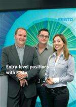 Careers with Festo - Entry-level positions ...