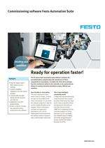 Commissioning software Festo Automation Suite