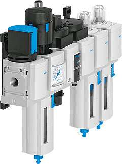 MS series service units for air preparation