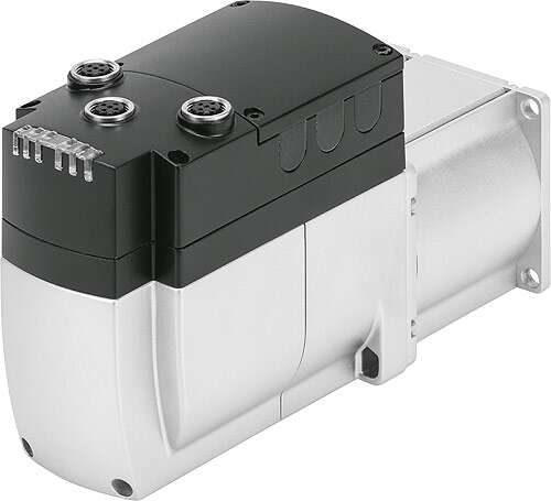 Integrated drive EMCA - electrical connections and LED indicators