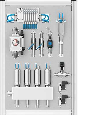 Controlling cooling, lubrication and cleaning circuits