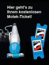 Motek Tickets sichern