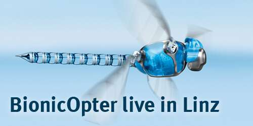 BionicOpter live in Linz auf der SMART Automation Austria