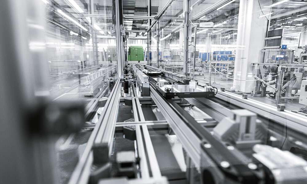 Integrating the Multi-Carrier-System (MCS®) into the Rexroth transfer system TS 2plus