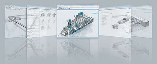 Engineering tools for sizing Festo products