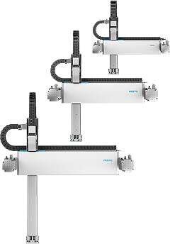 Linear gantry EXCT