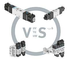 Solenoid valve from the robust range VUVS-S