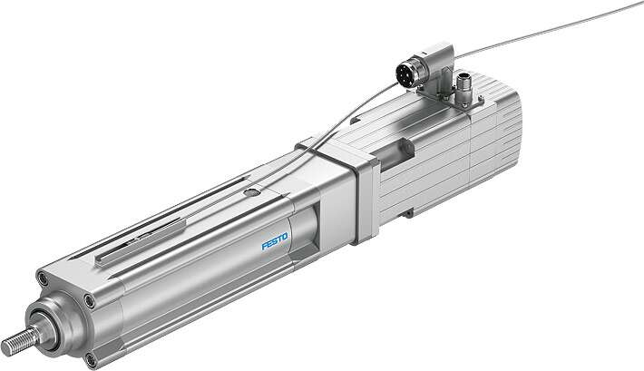Optional position sensing via proximity sensor and aluminium sensor rail for affixing