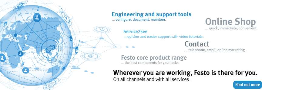 Festo is there for you