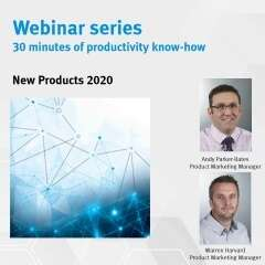 New products webinar