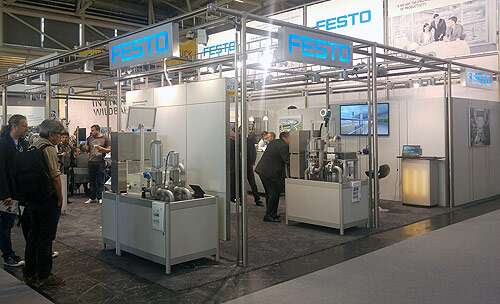 IFAT 2016: stand from Festo