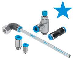 Stars in pneumatics: tubing and connectors