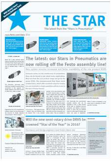 Stars in pneumatics magazine